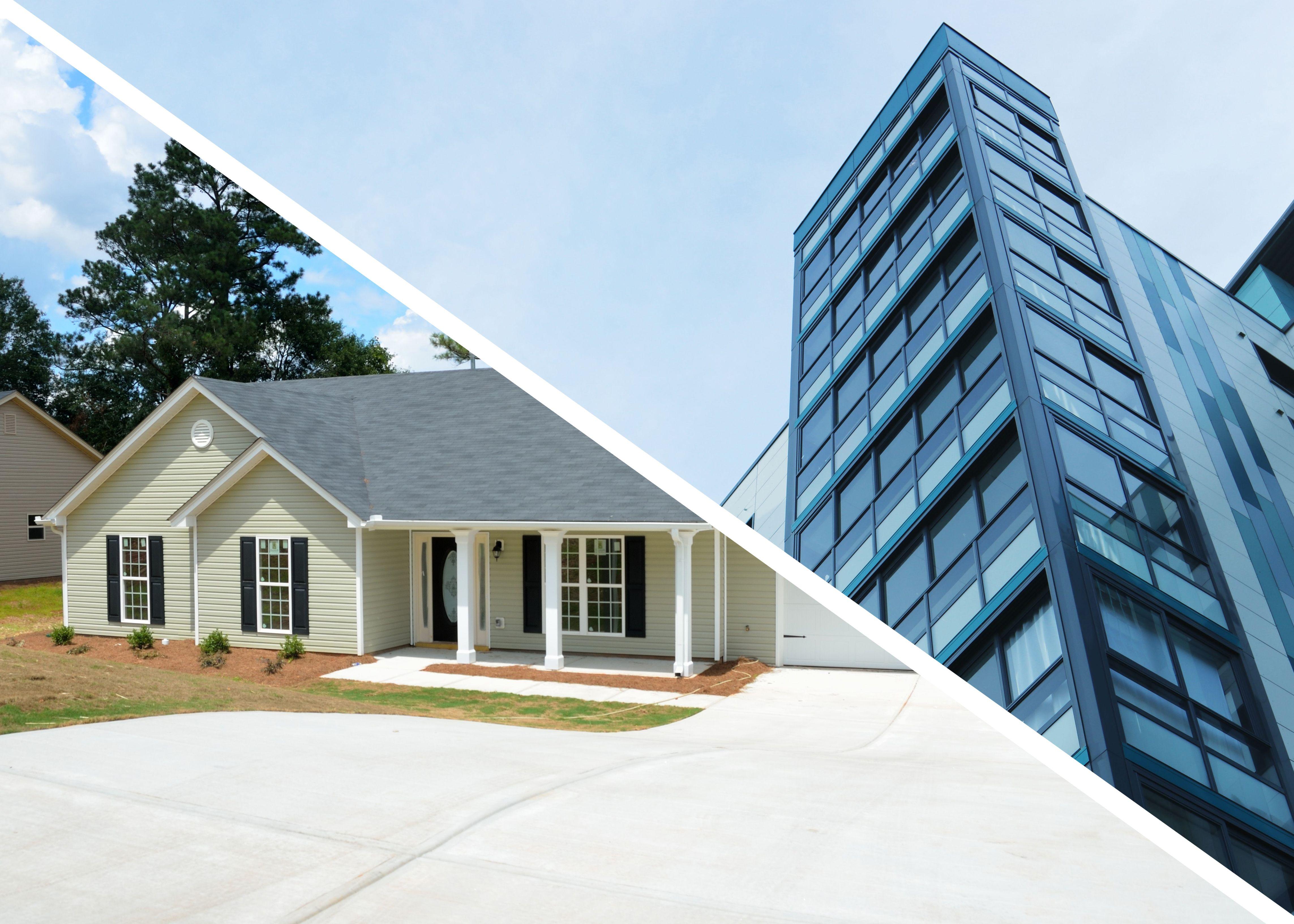 ¿Qué prefieres? ¿Casa o Apartamento?